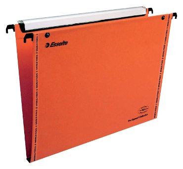 Hangmap Esselte Orgarex Visioplu verticaal 30mm oranje