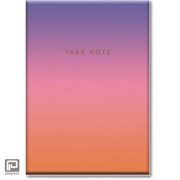 Studio Sweet & Sour notitieboekje A6 gradient set van 3 met fun quotes