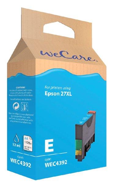 Inkcartridge Wecare Epson T271240 blauw HC