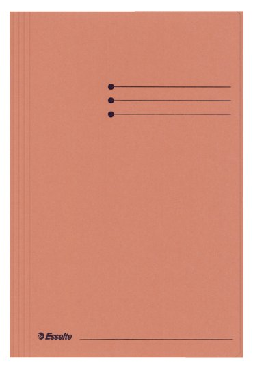 Dossiermap Esselte manilla 3klep folio oranje