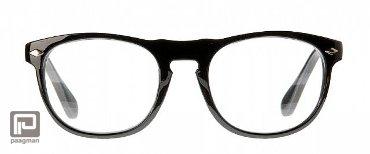 Icon Eyewear leesbril sterkte +1,00 model Luciano glanzend zwart