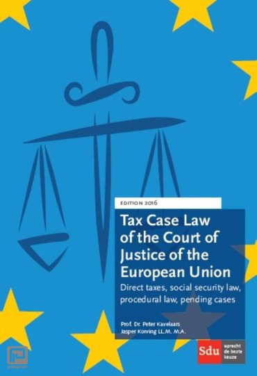 Tax case law of the court of justice of the european union / 2016