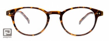 Icon Eyewear leesbril sterkte +2,00 model Boston mat demi