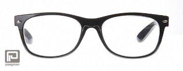 Icon Eyewear leesbril sterkte +3,00 model Wayefair glanzend zwart