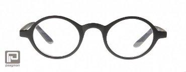 Icon Eyewear leesbril sterkte +2,00 model Youp mat zwart
