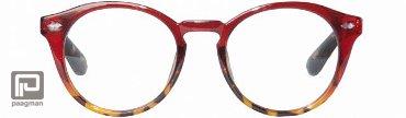 Icon Eyewear leesbril sterkte +2,50 model Jamie glanzend bordeaux