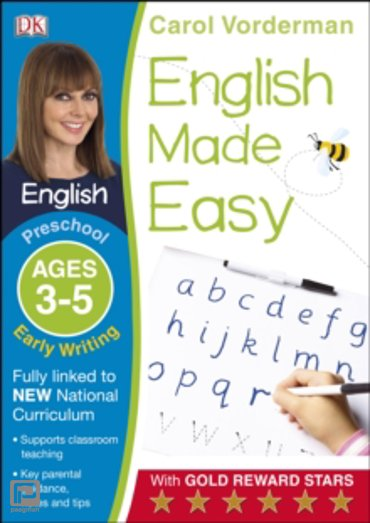 English Made Easy Early Writing Preschool Ages 3-5 : Ages 3-5 preschool