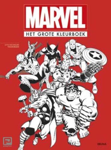 Het grote kleurboek - Marvel