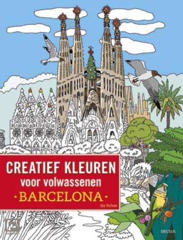Creatief kleuren voor volwassenen / Barcelona