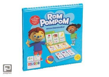 Woordenmaker / 4-6 jaar - Rompompom