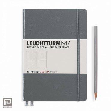 Leuchtturm1917 notitieboekje medium A5 dotted antraciet