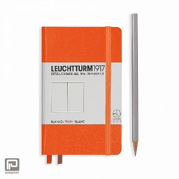 Leuchtturm1917 notitieboekje pocket A6 dotted oranje