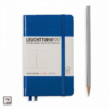 Leuchtturm1917 notitieboekje pocket A6 dotted blauw