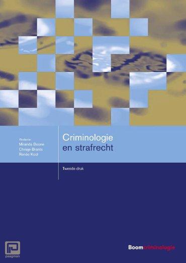 Criminologie en strafrecht - Boom studieboeken criminologie