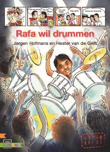 Rafa wil drummen - AVI strip
