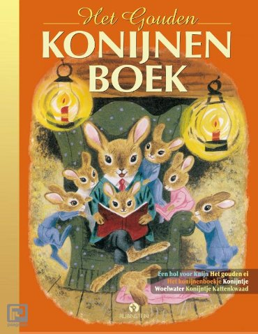 Het Gouden Konijnenboek - Gouden Voorleesboeken