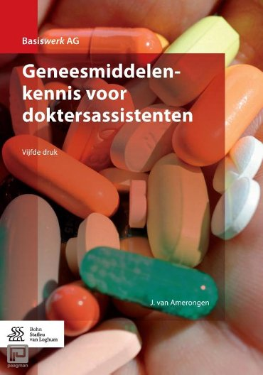 Geneesmiddelenkennis voor doktersassistenten - Basiswerk AG