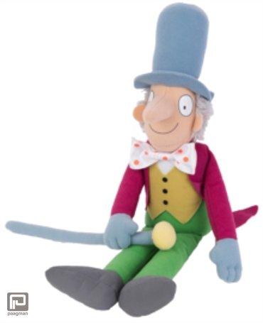 Willy Wonka knuffel 30cm Roald Dahl