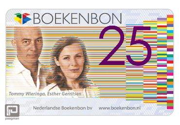 Boekenbon cadeaukaart t.w.v. 25 euro