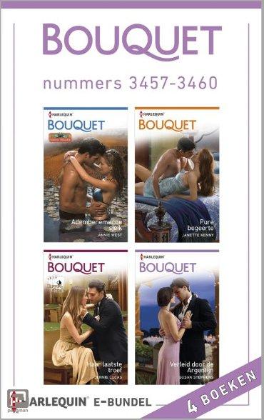 Bouquet e-bundel nummers 3457-3460 (4-in-1) - Bouquet