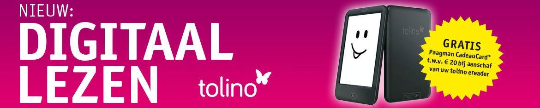Koop een Paagman tolino ereader nu tijdelijk met gratis cadeaucard van € 20