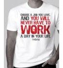 Confucius: T-shirt, size 'm' white color