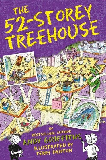 Treehouse books (04): 52-storey treehouse