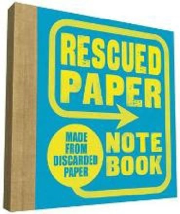 Rescued paper notebook, small