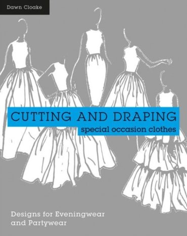 Cutting and draping party and eveningwear