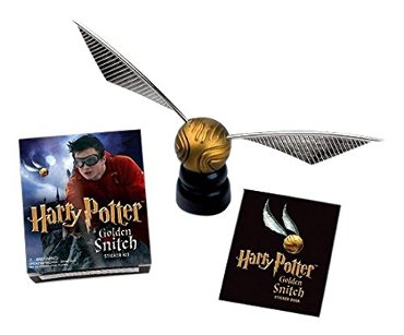 Miniture editions Harry potter golden snitch sticker kit