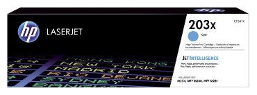 Tonercartridge HP CF541X 203X blauw HC