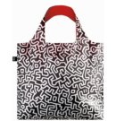 Loqi opvouwbare tas Museum Collectie - Keith Haring; Untiteld