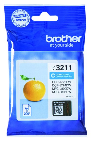 Inktcartridge Brother LC-3211 blauw