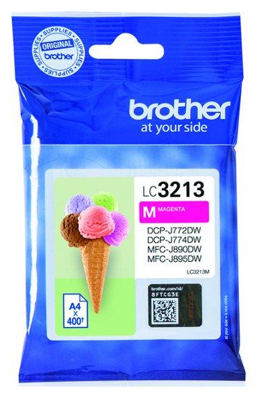 Inktcartridge Brother LC-3213 rood HC