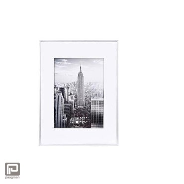 Henzo fotolijst manhattan, formaat 30 x 40 cm., kleur zilver