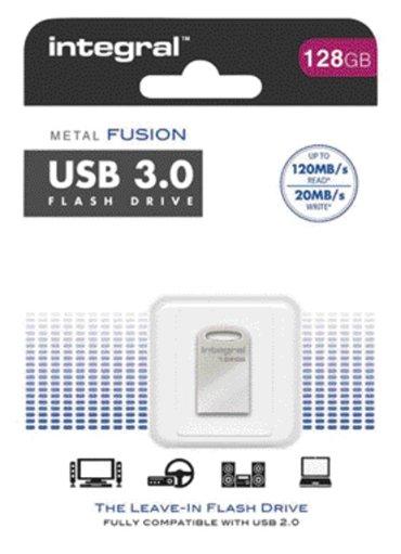 USB-Stick 3.0 Integral FD Metal Fusion 128GB