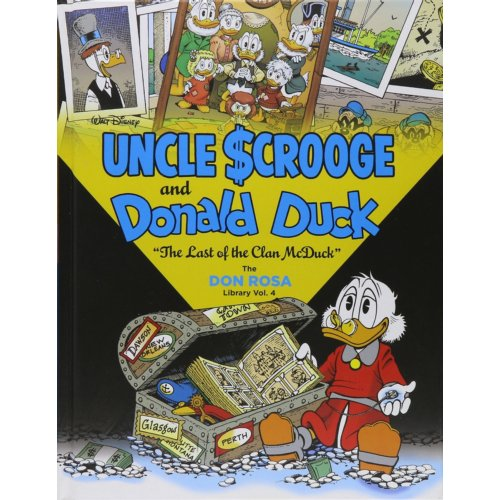 Image of Don Rosa Library 04 Uncle Scrooge And Donald Duck The Last Of The Clan Mcduck - Don Rosa