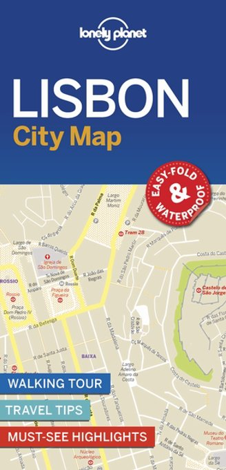 Lonely planet: City map Lonely planet: Lisbon city map (1st ed)