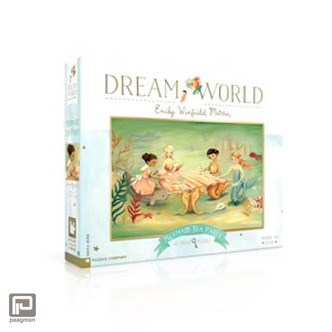 New York Puzzle Company puzzel - Dream World Mermaid Tea Party 60 stukjes
