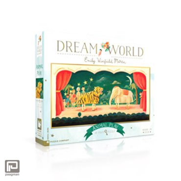 New York Puzzle Company puzzel - Dream World Animal Play 80 stukjes