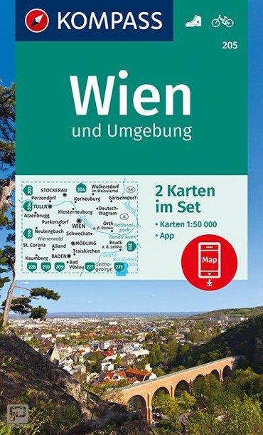 Wien und Umgebung 1 : 50 000