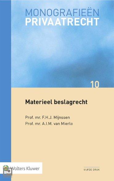 Materieel beslagrecht - Monografieen Privaatrecht