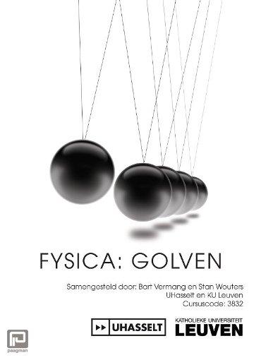 Fysica: Golven