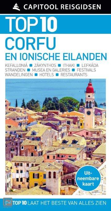 Corfu en de Ionische eilanden - Capitool Reisgidsen Top 10