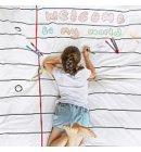 Eat Sleep Doodle dekbed notitieboek - enkel