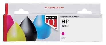 Inktcartridge Quantore HP F6T82AE 973X rood
