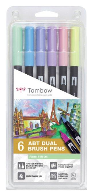 Brushstift Tombow ABT Dual Pastel ass