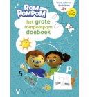 Het grote Rompompom doeboek / 4-6 jaar lezen rekenen schrijven - Rompompom