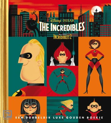 The Incredibles / 1 & 2 - Gouden Boekjes
