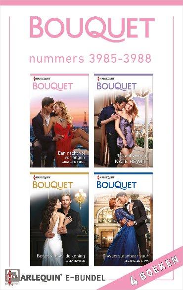 Bouquet e-bundel nummers 3985 - 3988